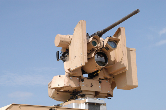 Defense turret weapon